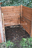 Compost bin (traditional heap) - just emptied