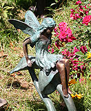 Fairy statue from 2009 Hampton Court Palace Flower Show